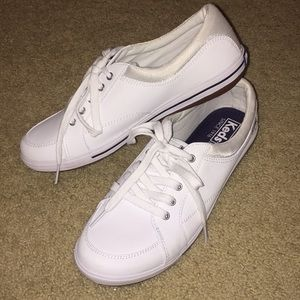 Keds Vollie Chambray White Sneaker Shoe